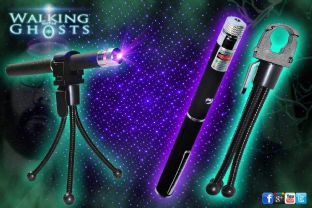 Ultraviolet UV Laser Grid Pen & Tripod Holder Ghost Paranormal Investigation UK
